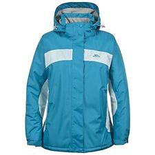 Womens Trespass Womens Lent Jacket Blue - S UK 10 To Fit Bust 86cm Euro 36
