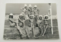 PAUL POPPER vintage Photo Foto Tyber Les Girls Monte Carlo 1967 Silbergelatine