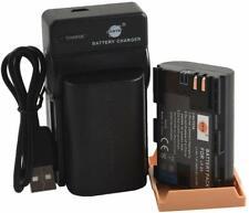 DSTE Set 2 Batterie Ricaricabili LP-E6 Li-Ion + Caricabatterie USB x Canon Eos