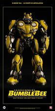 "HASBRO X threeA Toys TRANSFORMERS Bumblebee DLX scale 8"" Action Figure"