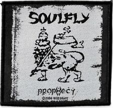 Official Licensed Merch Woven Sew-on PATCH Heavy Metal Rock SOULFLY Prophecy