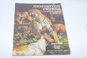 Vintage 1970 Remington Sporting Firearms Catalog