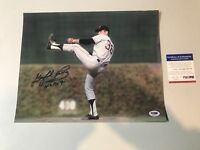 Gaylord Perry Autograph Signed Giants 11x14 Photo HOF PSA/DNA