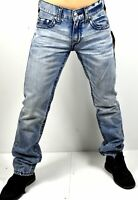 True Religion $249 Men's Ricky Relaxed Straight Midnight Big T Jeans - 101086