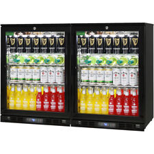 New Rhino Alfresco Glass 2 Door Bar Fridge Energy Efficient - SG1-COMBO