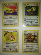 LOT OF 4 POKEMON  CARS early type ~98' ok to good quality