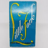 Vintage Little Fork Stainless Steel 6 Pc Set Hors D'oeuvre Cocktail Original Box