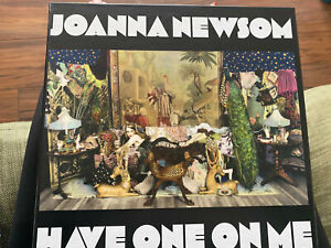 JOANNA NEWSOM - HAVE ONE ON ME 3 VINYL LP + booklet 2010 EXCELLENT CONDITION