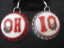 Ohio State Buckeyes Bottle Cap Earrings ~ **Gift Idea