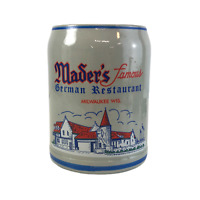 Vintage Stein Mader's Famous German Restaurant US Made in Germany