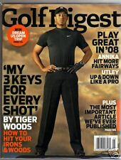 Tiger Woods Golf Digest May 2008 Mint no label
