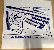 Scorpa SY250 F  complete decal / sticker  set Moto X Quality