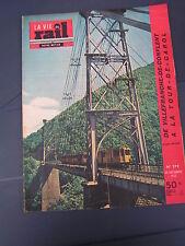 vie du rail 1952 379 JONCET MONTLOUIS CABANASSE THUèS CANAVEILLES FONT ROMEU