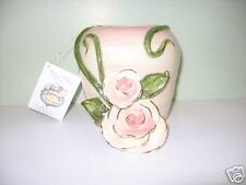 Blue Sky Heirloom Rose by Heather Goldminc Rose Vase