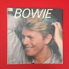 DAVID BOWIE RARE -Classic 1982 UK RCA PL45406 With Lyric Sleeve VINYL