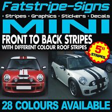 MINI STRIPES GRAPHICS DECALS STICKERS CAR VINYL ONE COOPER S R50 R56 F56 JCW 1.6