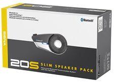 SENA 20S Bluetooth Communication Intercom System With Slim Speakers Motorcycle