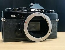 [EXC+++++] Olympus OM-2N 35mm SLR Film Camera Black Body - Tested and Working