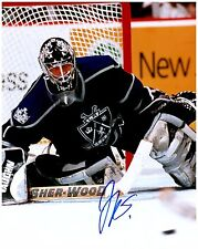 Los Angeles Kings JAMIE STORR Signed Autographed 8x10 Pic D