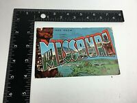 Vintage Postcard Missouri 1955 Various Sites    N11