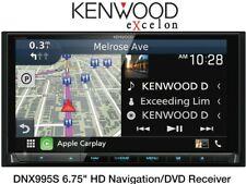 Kenwood DNX995S eXcelon DVD/CD Apple Carplay Android Auto Car GPS Navigation