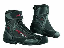 Botas impermeable Sport Touring moto Boots zapato Maxi scooters A-pro negro 45