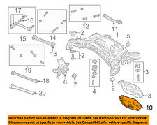MERCEDES OEM 05-16 SLK350 Rear Suspension-Cover 2033520088
