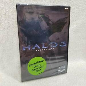 Halo 3 Essentials (Microsoft Xbox 360) BONUS CONTENT NEW SEALED