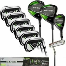 Callaway EDGE 10-Piece Men's Golf Clubs Set Right Handed Stiff ✅