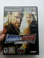 WWE SmackDown vs. Raw 2009 Featuring ECW (PlayStation 2 PS2) Complete