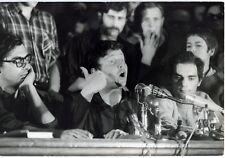 Photo Alain Noguès - Mai 68 - Daniel Cohn Bendit - Tirage argentique d'époque -