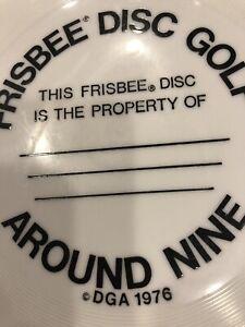 Frisbee Disc Golf Disc Dga 1976 Very Rare Collector Disc 136 Gr