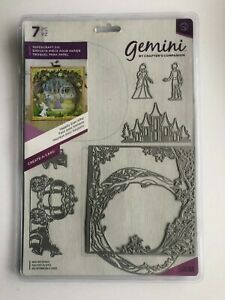 Gemini Crafters Companion Create A Card 'happily Ever After' New