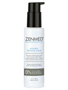 ZENMED® AHA/BHA Refining Scrub - Helps Draw Out Impurities & Detoxify Pores!