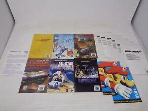 Game Manual Lot N64 Nintendo Goldeneye