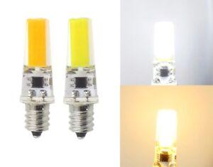 E12 Candelabra C7 Led bulb COB 2508 Lamp 5W 110V/220V Light Silicone Crystal #1