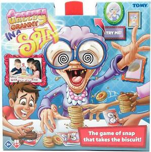 Tomy Greedy Granny In A Spin Take The Biscuit Fun Children Game Ages 5 And Up