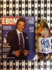 Ebony Magazine, Jan, 1981 BILLY DEE WILLIAMS!! At the height of Star Wars fame!