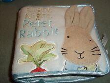 Peter Rabbit vieux livre en tissu