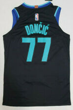 New Rare Luka Doncic Dallas # 77 Black Swingman Men's Jersey Limited  NWT