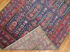 Antique Decorative Caucasian Karabagh Rug Runner Kelleh Size 3'8''x16'6''