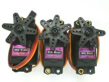 TOWER PRO TYPE MG996R  STANDARD SIZE SERVOS QUANTITY 3 +  HORNS  GOOD CONDITION