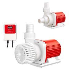 1600 GPH DC ECO Amphibious Water Pump Hydroponics Pool Marine 24V w/ Control