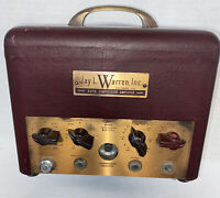 For RESTORE Vintage Jay L Warren Gated Compression Tube Amplifier D-1 Serial 407