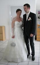 Brautkleid, Marke Pronovias, Gr. 38, sehr guter Zustand, Tüll, ohne Schlepe