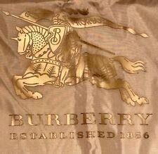 100% Authentic Burberry Prorsum Knight Garment Bag British Khaki Brand New !