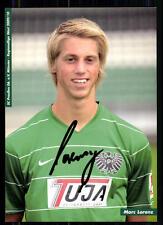Max Lorenz SC Preußen Münster 2009-10 Autogrammkarte Original Signiert + A 85423