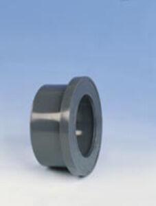 PVC Bundbuchse flach, d =  16 bis d = 500 mm
