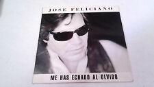 """JOSE FELICIANO """"ME HAS ECHADO AL OLVIDO"""" CD SINGLE 1 TRACKS"""