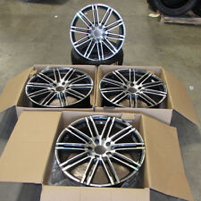 "Fits Porsche Cayenne Q7 Touareg 22"" Split 10 Spoke Machined Gunmetal Wheels"